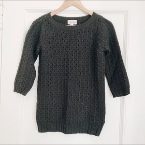 Forever 21 Gray Chunky Knit Sweater